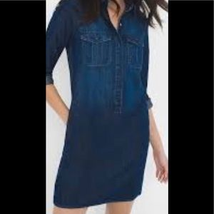 WHBM denim dress in SZ: 0